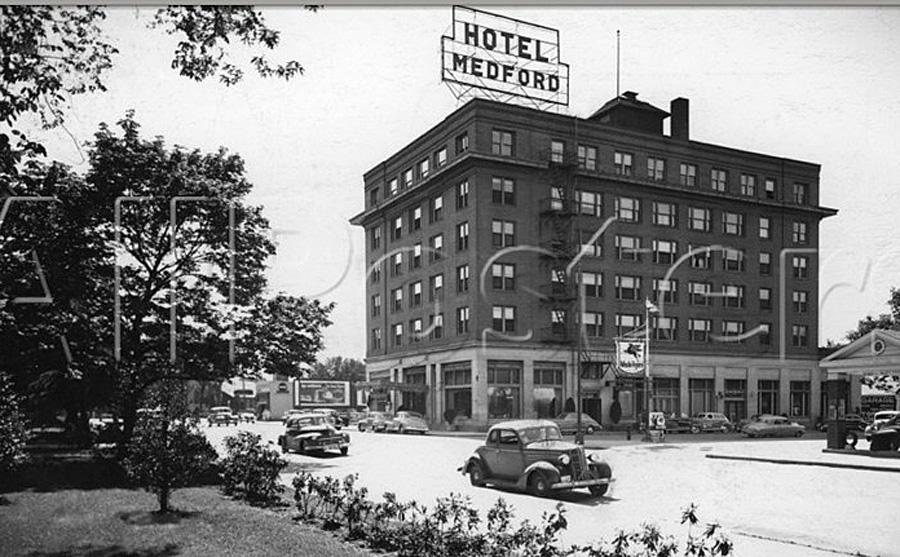 Hotel Medford Circa 1948 1951